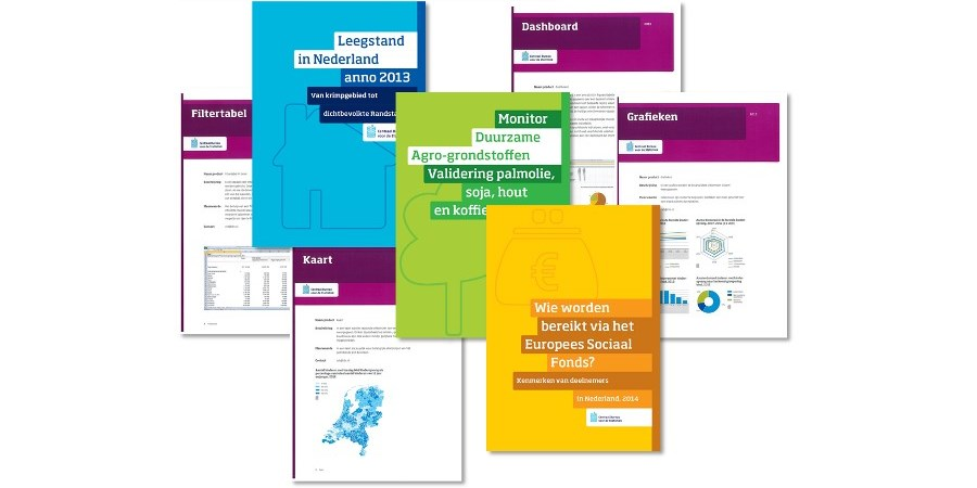 Customised research products by Statistics Netherlands