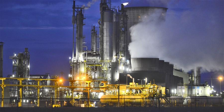 Chemische fabriek van DSM