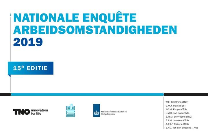 Omslag, Nationale Enquete Arbeidsomstandigheden 2019