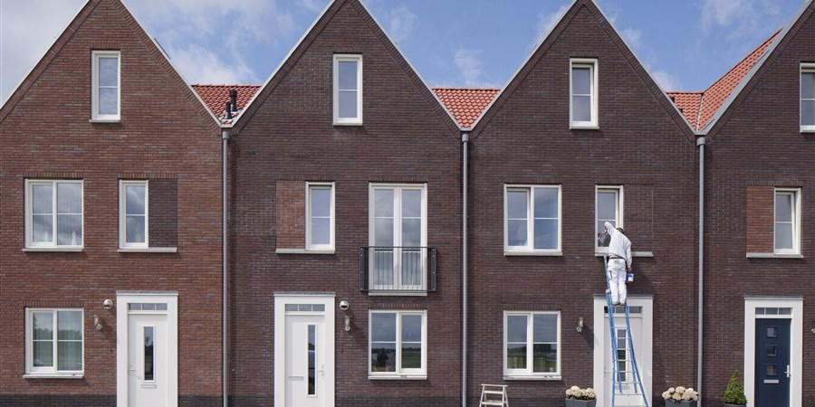 rijtjeshuizen in Nederland