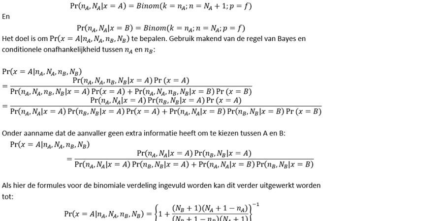 ingewikkelde formules