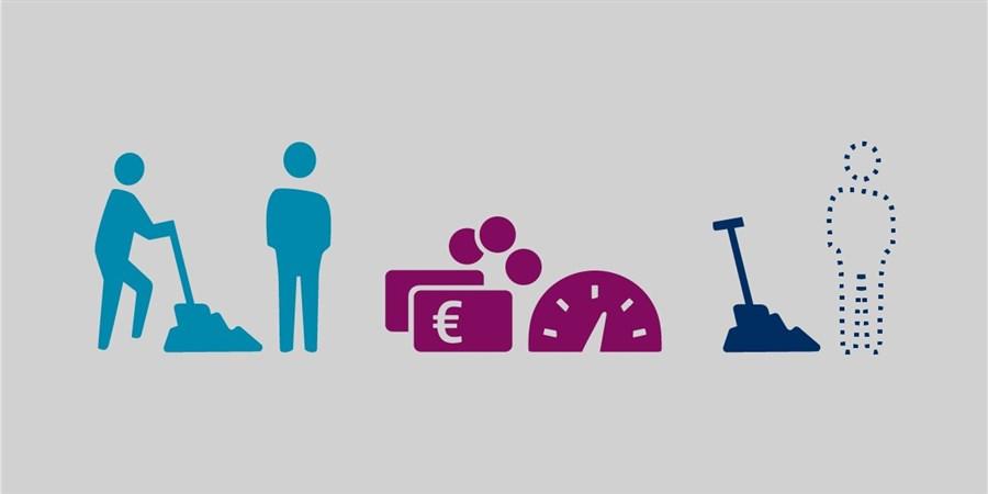 Het logo voor het arbeidsmarktdashboard