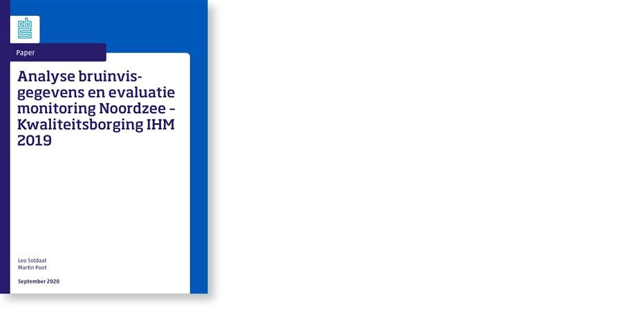 Omslag Analyse bruinvisgegevens en evaluatie monitoring Noordzee – Kwaliteitsborging IHM 2019