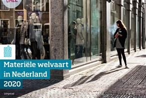Omslag, Materiële welvaart in Nederland 2020