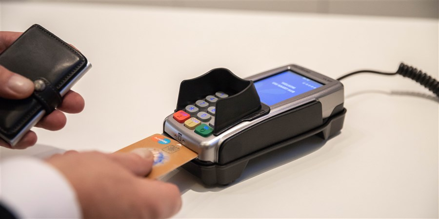 Plaatje betaling met pinpas