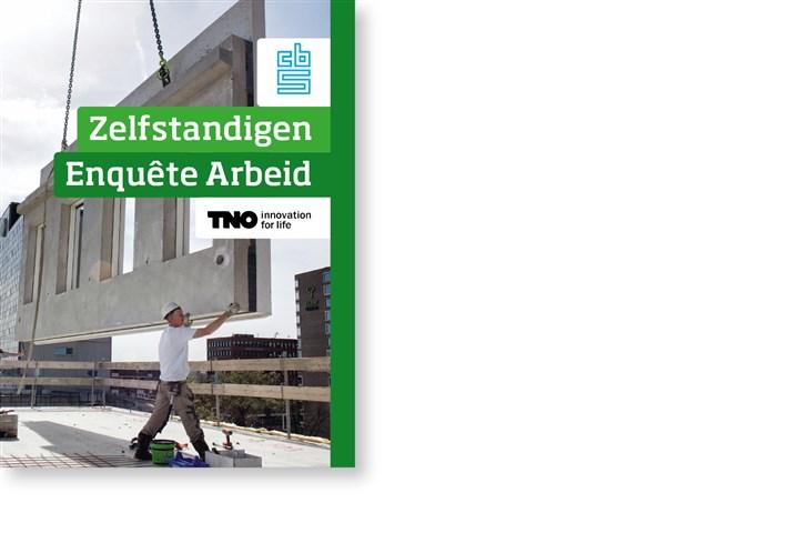 Omslag publicatie Zelfstandigenenquete Arbeid
