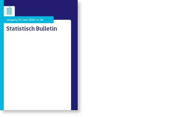 Omslag, Statistisch Bulletin nr. 6 - 2018