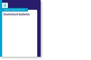Omslag Statistisch bulletin 2020-01
