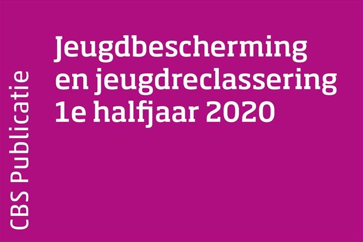 Omslag Jeugdhulp en jeugdreclassering 1e halfjaar 2020