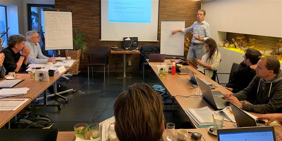 Kick-off meeting gemeente Heerlen, CBS en 5 andere organisaties op 24 oktober 2019 voor het onderzoek naar sociale cohesie in Heerlen
