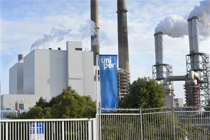 Kolencentrale Elektriciteitscentrale op de Maasvlakte