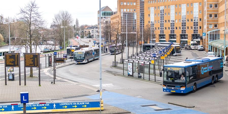 Busstation van groningen