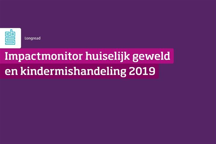Omslag Impactmonitor Huiselijk geweld en kindermishandeling 2019