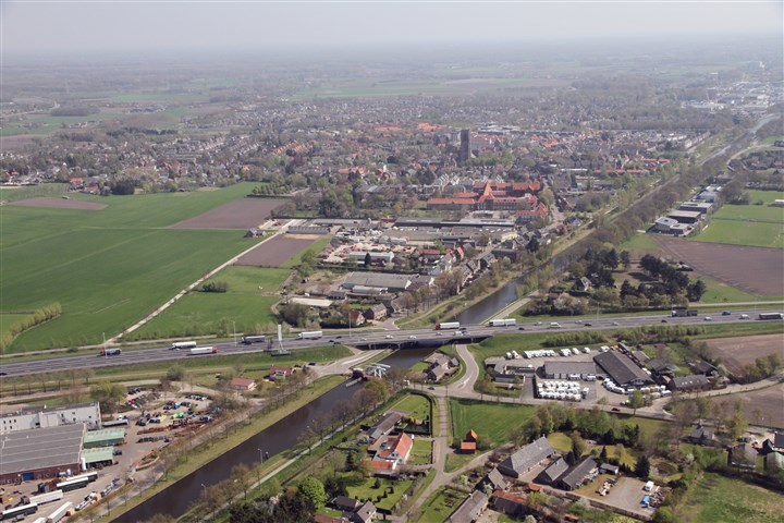 Kempengemeenten luchtfoto kanaal Oirschot