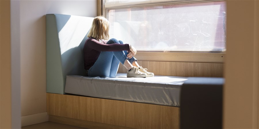Een time out kamer in een jeugdzorg instelling