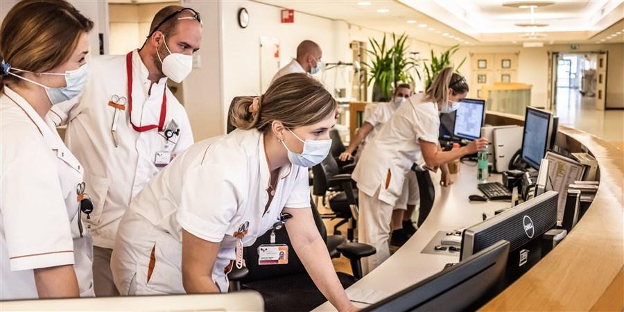 spoedeisende hulp die naast reguliere zorg ook Covid-19 patiënten helpt
