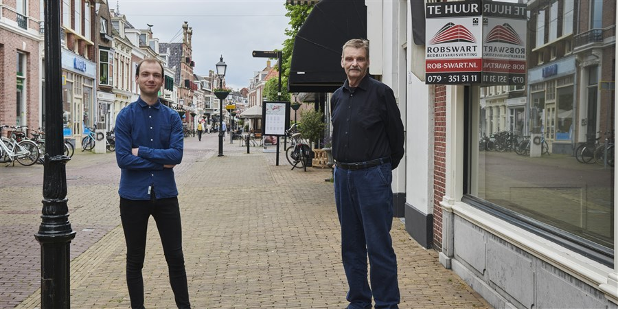 Bob Kruithof en Cor Boset werken aan snelle maand- en weekberichten over faillissementen