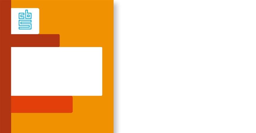 Paper cover oranje
